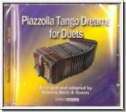 Astor Piazzola tango dreams for duets. CD