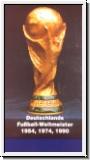 Deutschlands Fußballweltmeister 1954, 1974, 1990 (mit Originalau