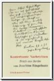 Kunterbunte Nachrichten: Briefe aus Berlin von Joachim Ringelnat