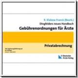 Klakow-Franck (Hg.): GOÄ. Dingfelders neues Handbuch. Privatabre