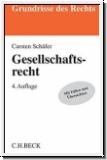 Schäfer: Gesellschaftsrecht