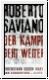 Saviano: Der Kampf geht weiter